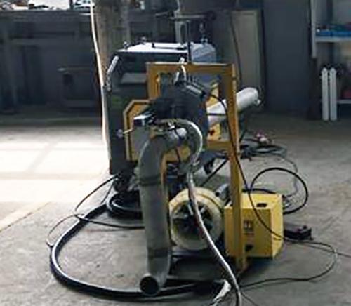 开放式管管焊机