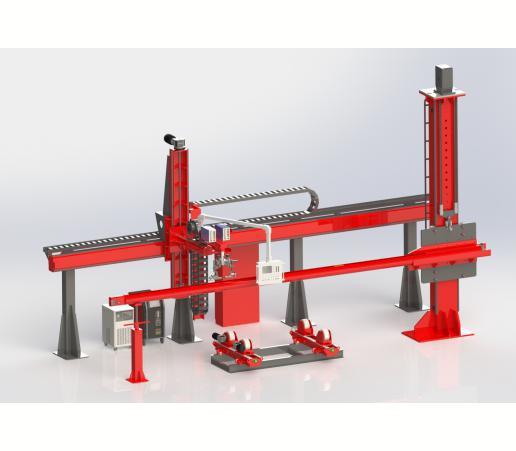 边梁系列焊接工装